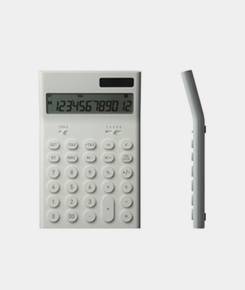 Electronic Calculator- White