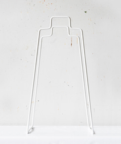 Helsinki Paper Bag Holder - White