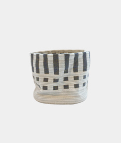 Fabric Basket - Nereus negative lead