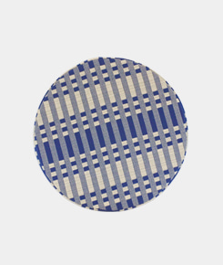 Disc Cushion - Tithonus blue
